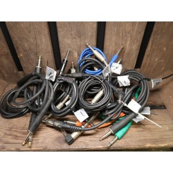 Instrument kabel 30 cm - 1m