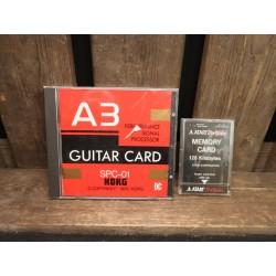 Korg A3 SPC-01 Guitar Card...
