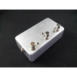 True bypass switching pedal...