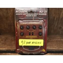 Behringer ADI 21 Acoustic...