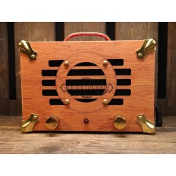 Cigar box guitar amplifier...