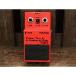 Boss PSM-5 Power Supply & Master Switch (black label)