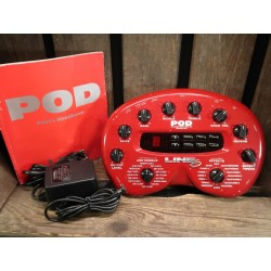 Line 6 POD 2.0 with manual and power supply