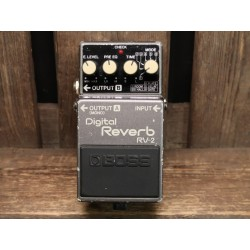 Boss RV-2 Digital Reverb...