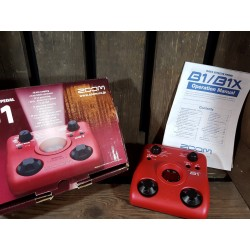 Zoom B1 Bass effects pedal...