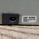 Boss ACA adapter